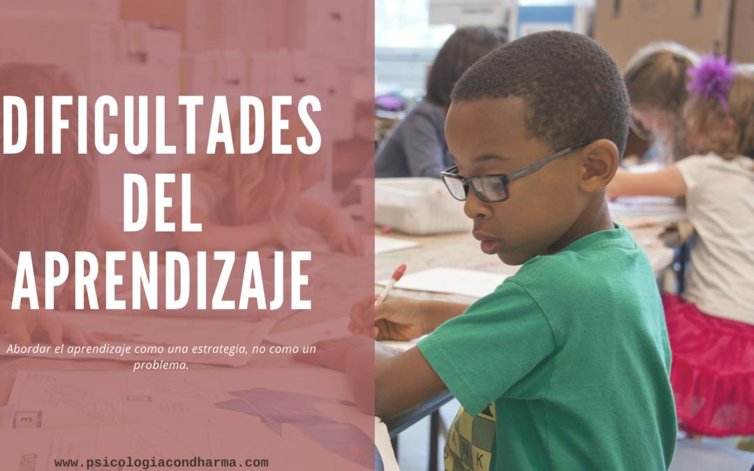 Dificultades del aprendizaje. Psicoterapia infantojuvenil en Torremolinos y Reus.